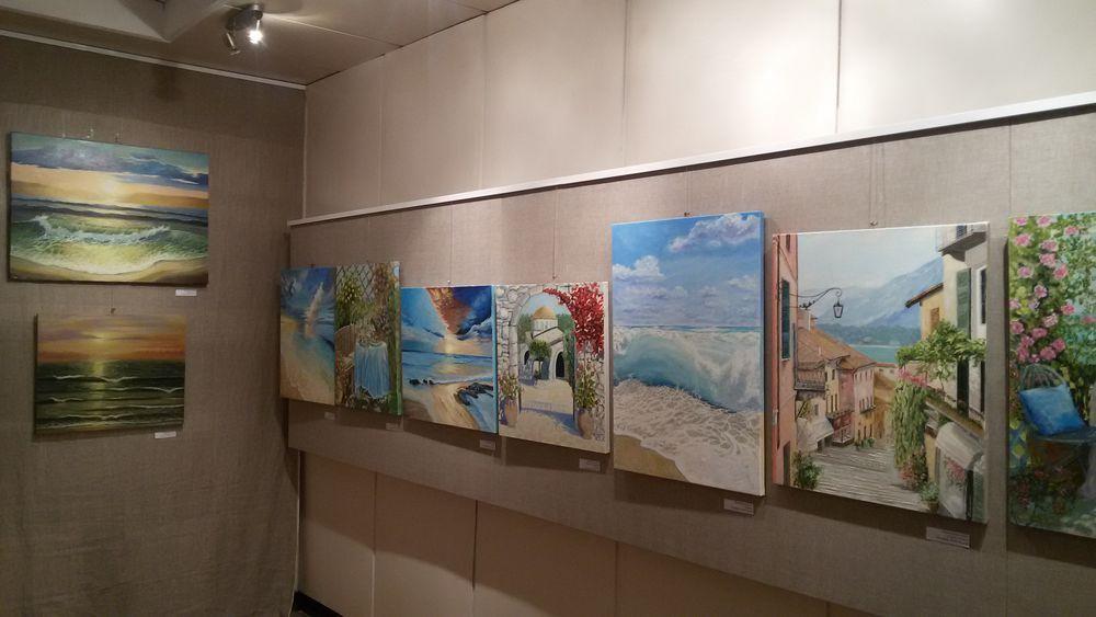анна кшановская, выставка, открытие выставки, натюрморт