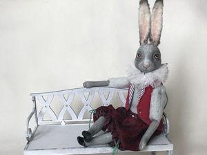 Кролик Валет - хулиган с пронзительным взглядом!. Ярмарка Мастеров - ручная работа, handmade.