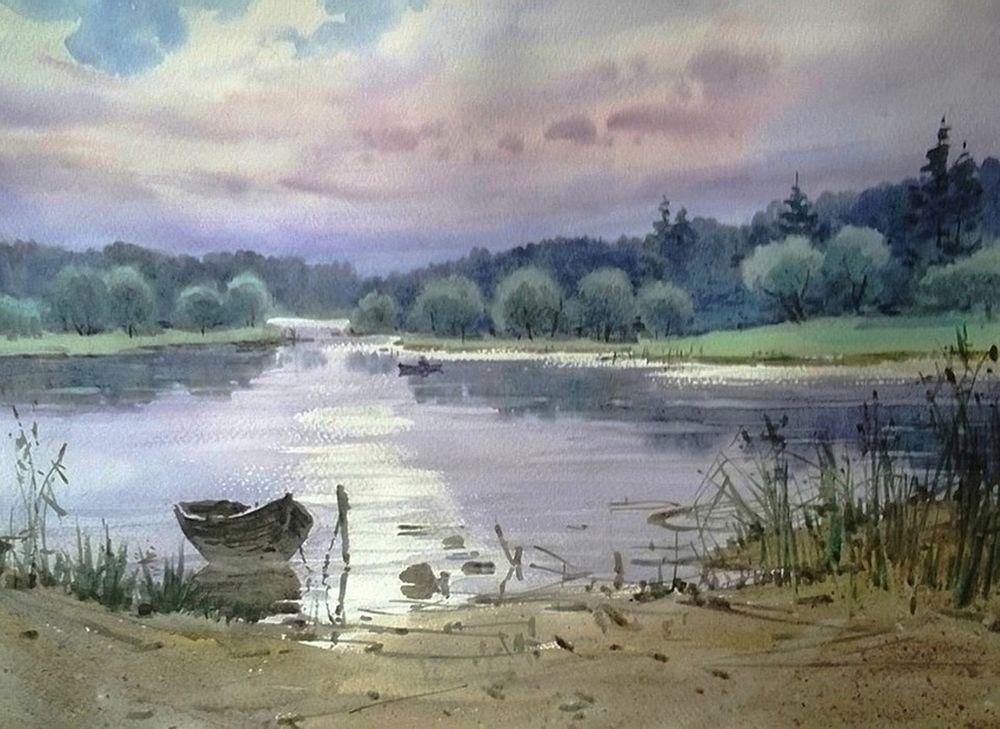Акварельные пейзажи художника Ильи Горгоца, фото № 47