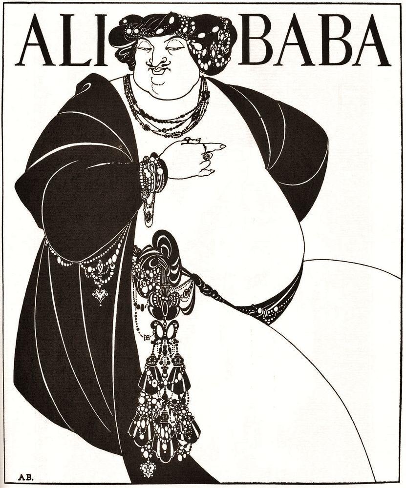Aubrey Vincent Beardsley — «Черный алмаз» эпохи модерн
