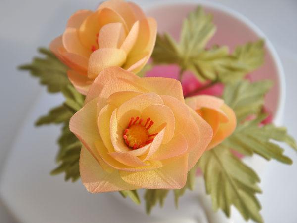 Как кроить детали для цветка из ткани | Ярмарка Мастеров - ручная работа, handmade