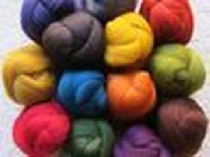 Тестирование цветной шерсти | Ярмарка Мастеров - ручная работа, handmade