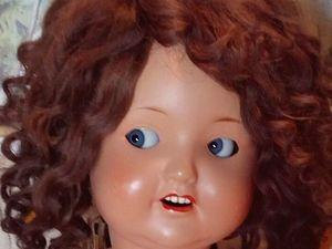 Реставрация антикварной куклы. Ярмарка Мастеров - ручная работа, handmade.