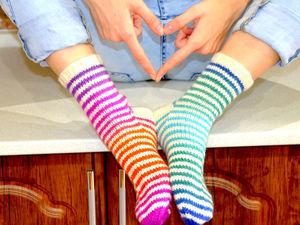 Воришки вязанных носков. Ярмарка Мастеров - ручная работа, handmade.