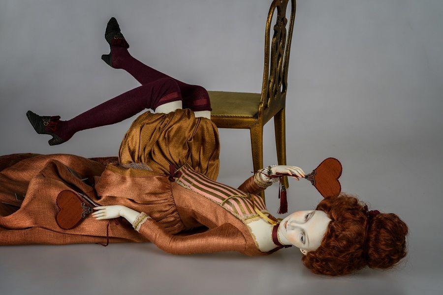 авторская кукла, красивая кукла