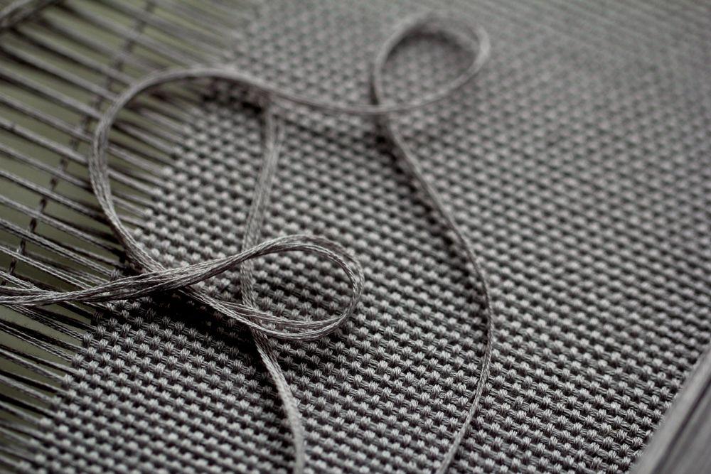 процесс, шелк, ткачество