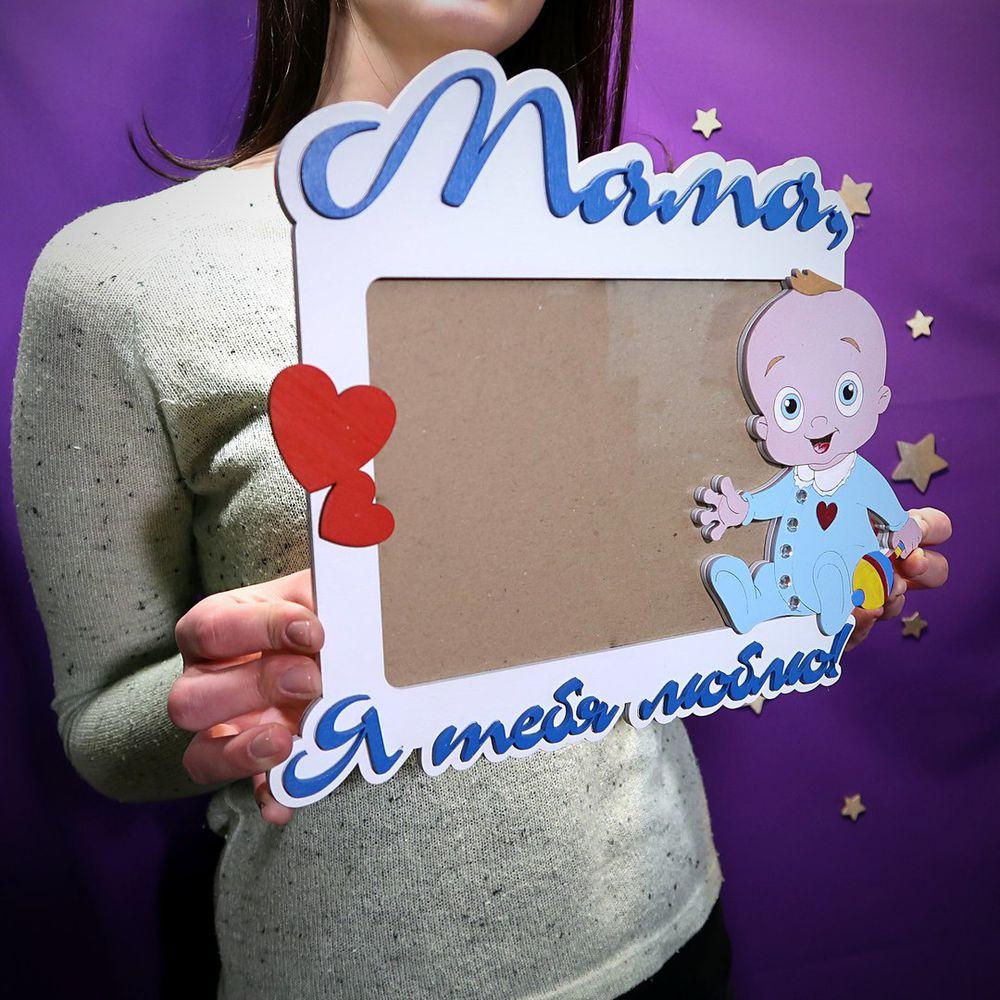 дети, подарок, мама, дедушка, фотография, праздник