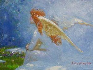 Светлые ангелы художника Виктора Низовцева. Ярмарка Мастеров - ручная работа, handmade.
