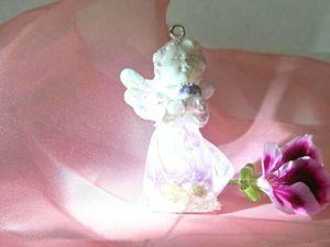 История цветочного ангела. | Ярмарка Мастеров - ручная работа, handmade