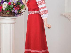 Платье Калина красная.. Ярмарка Мастеров - ручная работа, handmade.