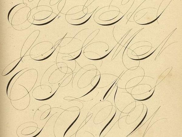 Волшебный Спенсериан — искусство каллиграфии на службе деловой переписки   Ярмарка Мастеров - ручная работа, handmade