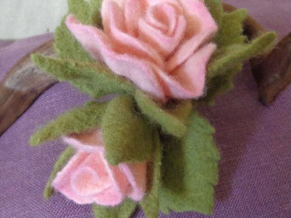 Есть два места на мастер-класс по валянию цветка 9 октября. | Ярмарка Мастеров - ручная работа, handmade