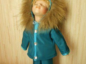 Как быстро сшить курточку для куклы. Ярмарка Мастеров - ручная работа, handmade.