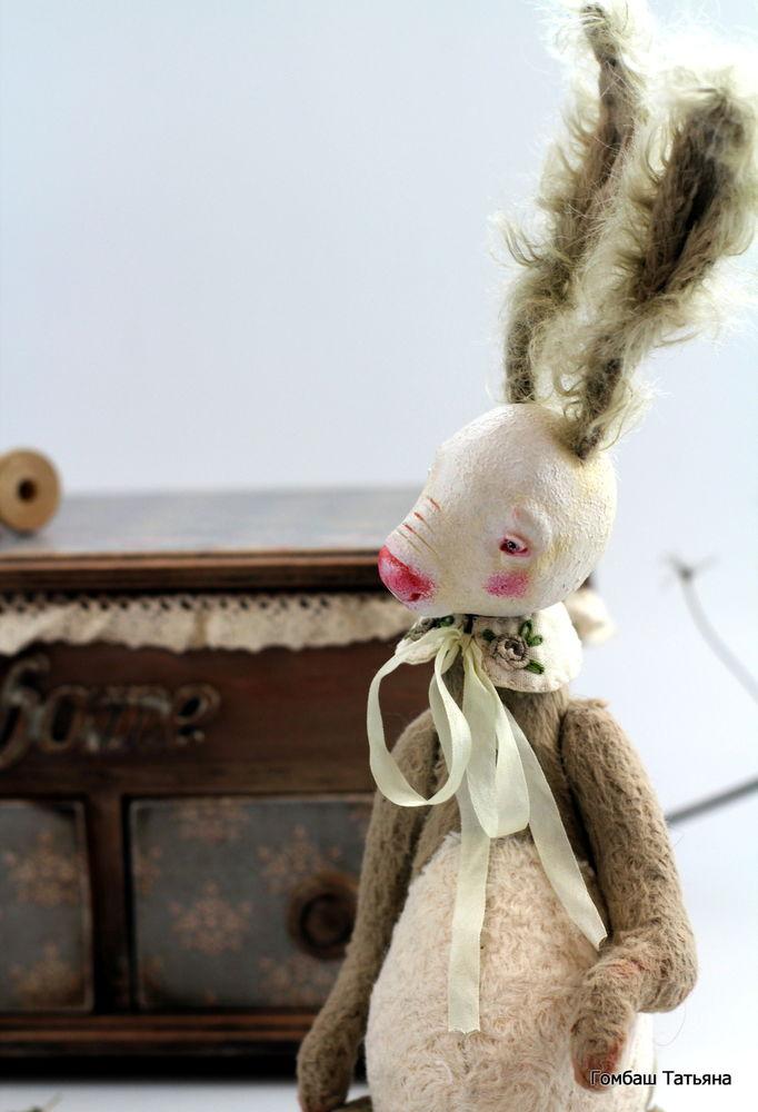 сова, зайчик, куклы, необычные куклы, розовый