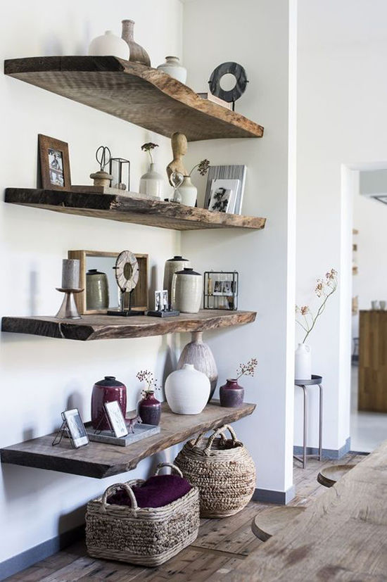 Simple and Budget Ideas for Home: Open Shelves and Ways of Mounting, фото № 12