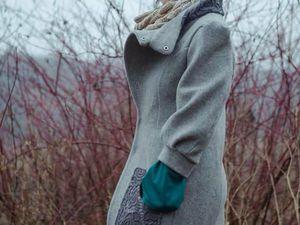 Скидка на эксклюзивное пальто | Ярмарка Мастеров - ручная работа, handmade