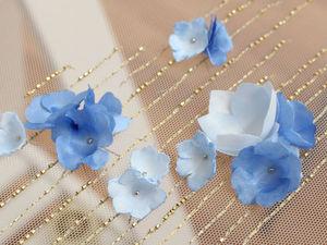 Вышивка цветов на ткани 111