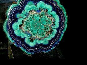 Прекрасные самоцветы. Азурит и малахит. Ярмарка Мастеров - ручная работа, handmade.