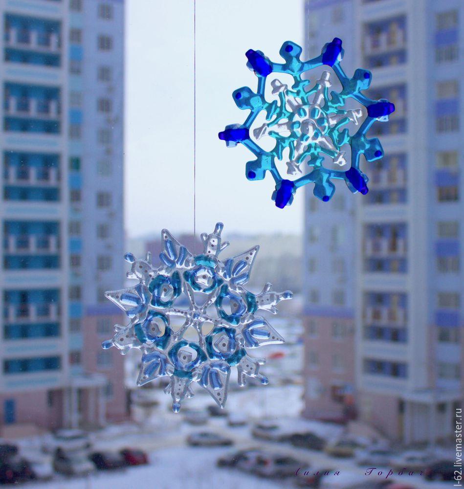 Make Snowflake Of Glass, фото № 22