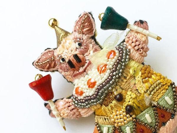 Чудные броши из Японии | Ярмарка Мастеров - ручная работа, handmade