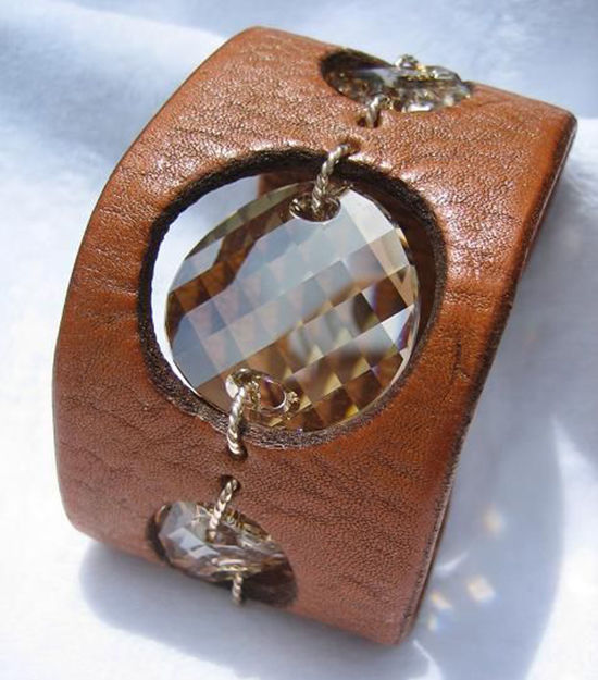 30 Simple Ideas for Design of Handmade Leather Jewelry, фото № 29