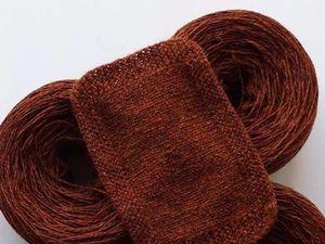 Потрясающий цвет пряжи из шерсти ягненка. Ярмарка Мастеров - ручная работа, handmade.