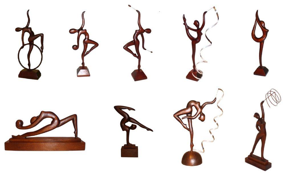 гимнастика, художественная гимнастика, резьба, кубки из дерева, подарки к 8 марта, подарок для девушки, спорт
