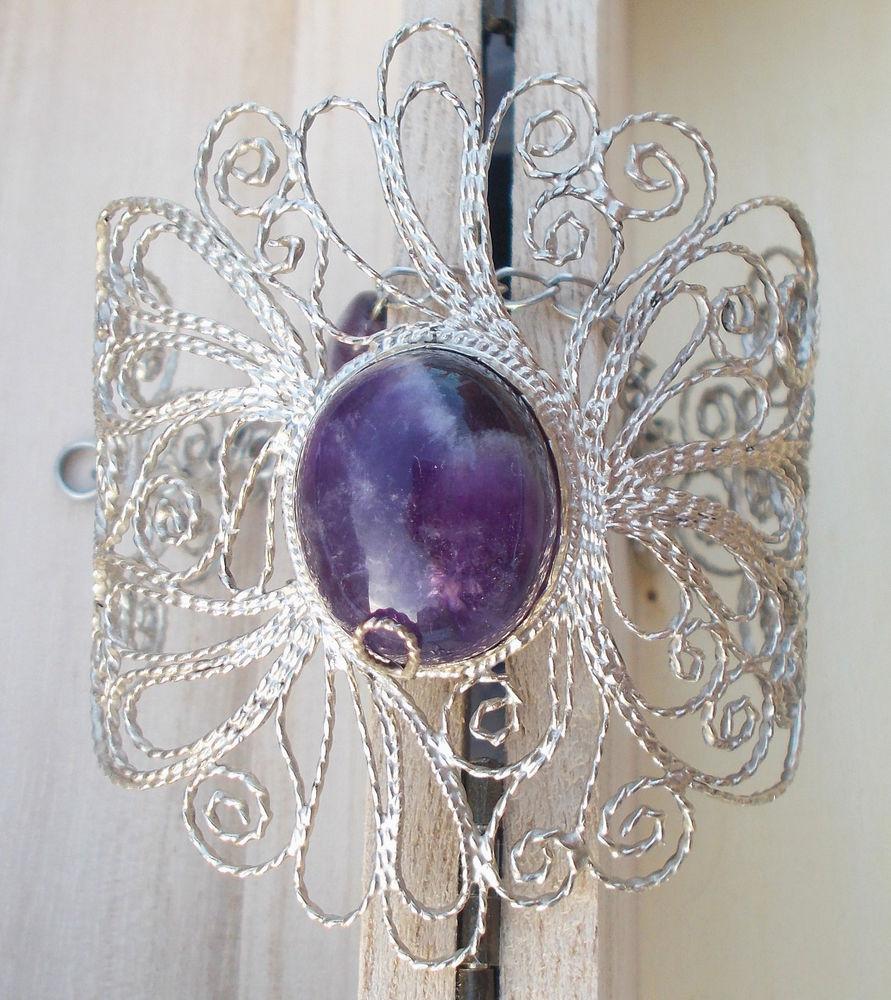 филигранный браслет