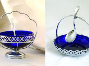 Бристольское Синие Стекло | Ярмарка Мастеров - ручная работа, handmade