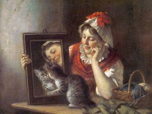 Котики на картинах Рудольфа Эппа. Ярмарка Мастеров - ручная работа, handmade.