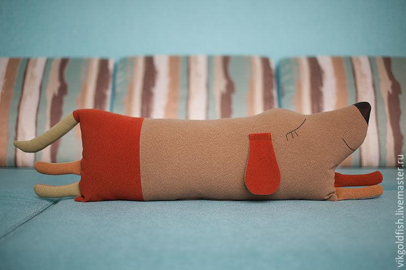 Как сшить подушку-собаку 65