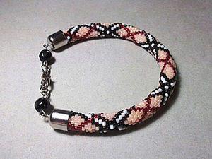 How to Easily Start a Beaded Crochet Rope. Livemaster - handmade