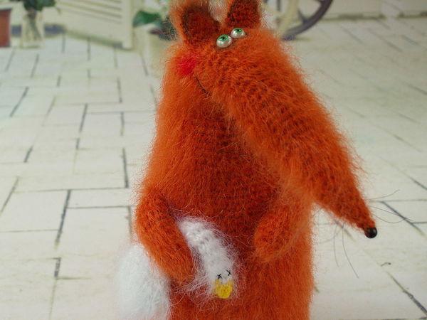 Бесплатный онлайн-урок по вязанию Лисички крючком   Ярмарка Мастеров - ручная работа, handmade
