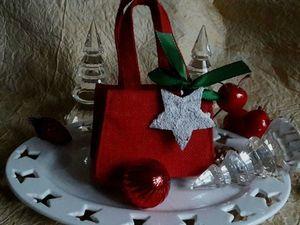 Новогодняя акция! Снежинка и сумочка в подарок!. Ярмарка Мастеров - ручная работа, handmade.
