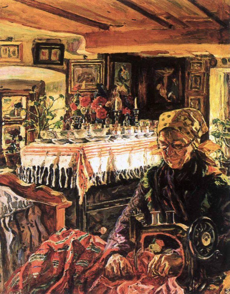 Когда есть чем заняться — стареть некогда: душевные картины о бабушках-рукодельницах, фото № 46