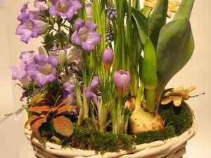 Аранжировки из свежих весенних цветов на 23 февраля и 8 марта. Ярмарка Мастеров - ручная работа, handmade.