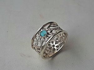 Ажурное кольцо!!!. Ярмарка Мастеров - ручная работа, handmade.