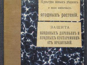 Культура ягодных растений. Фото страниц книги. Ярмарка Мастеров - ручная работа, handmade.