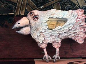 Белая Ворона!. Ярмарка Мастеров - ручная работа, handmade.