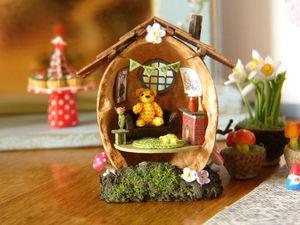 Microcosm in Walnuts: Amazing Miniature Works. Livemaster - handmade