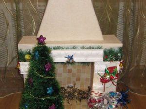 Наш новогодний камин... | Ярмарка Мастеров - ручная работа, handmade