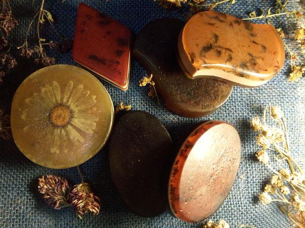 Мыло на травах для нашей красоты и здоровья   Ярмарка Мастеров - ручная работа, handmade