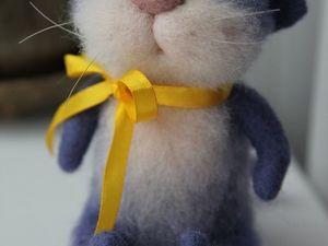 Новый котик в моем магазине)). Ярмарка Мастеров - ручная работа, handmade.