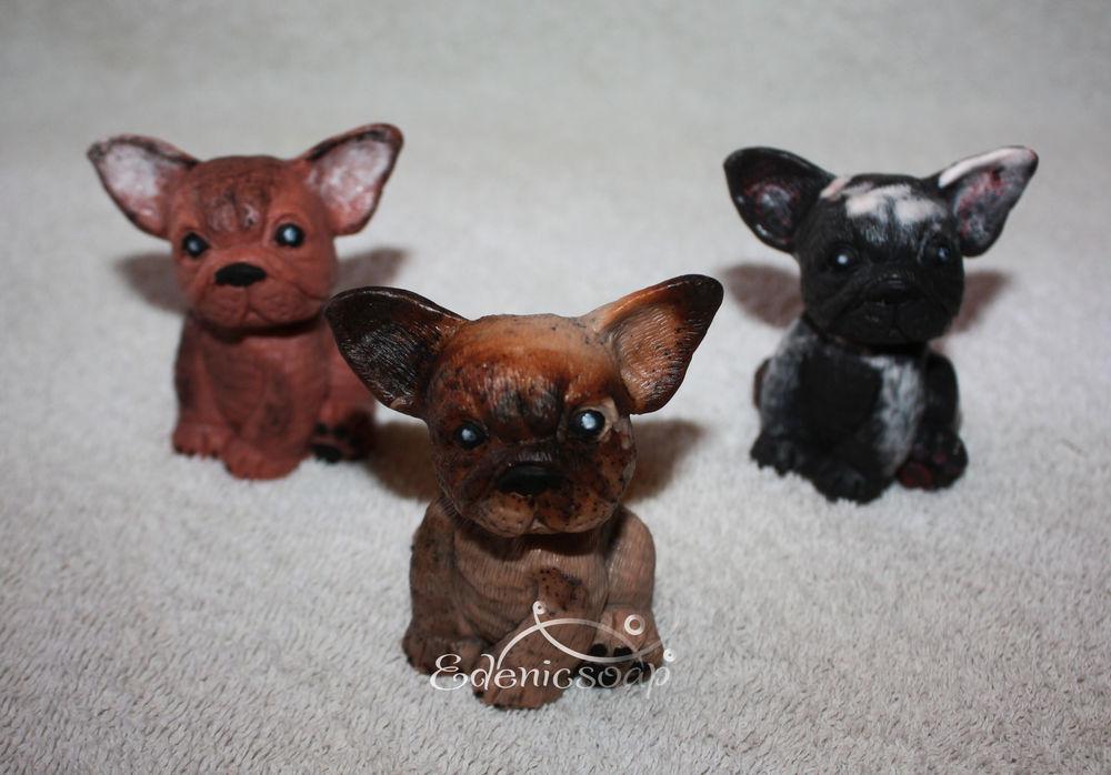 собачки, сувенирное мыло, подарки к новому году