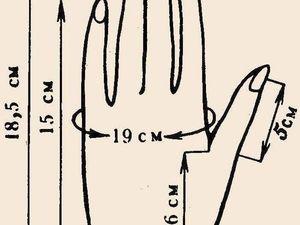 Размер варежек:как подобрать/измерять. Ярмарка Мастеров - ручная работа, handmade.
