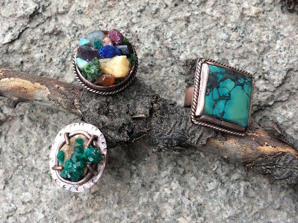 Закрыт! Аукцион на три новых кольца | Ярмарка Мастеров - ручная работа, handmade