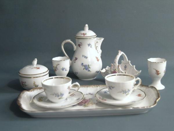 Кофейный набор на 2 персоны Tirschenreuth | Ярмарка Мастеров - ручная работа, handmade