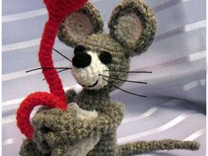 «Мышонок Пик». Мастер-класс по вязанию крючком. Ярмарка Мастеров - ручная работа, handmade.