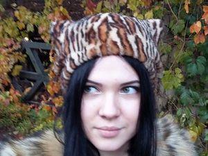 Модные меховые шапки. Ярмарка Мастеров - ручная работа, handmade.