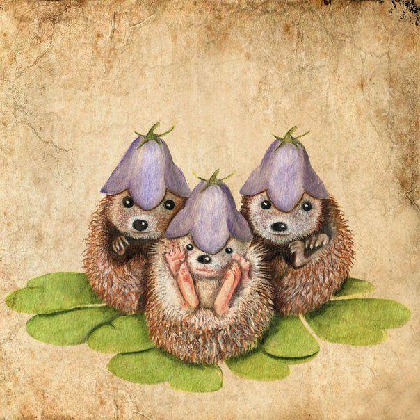 Ребятам о зверятах от художника Anne Boux, фото № 4